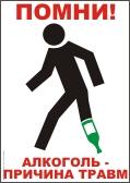 Агитационный плакат по охране труда
