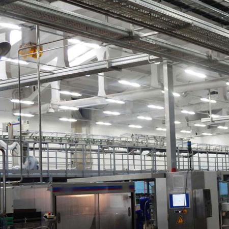 Освещение промышленных цехов