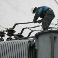 Техника безопасности при работах с масляными трансформаторами