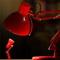 Правильная освещенность рабочего стола