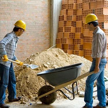 Техника безопасности при хранении и складировании строительных материалов на стройплощадке