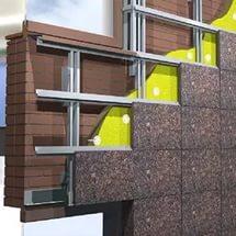 Модульная плита гранитная для отделки зданий