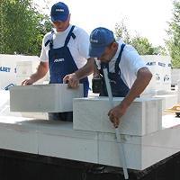 Меры безопасности при укладке газобетонных блоков