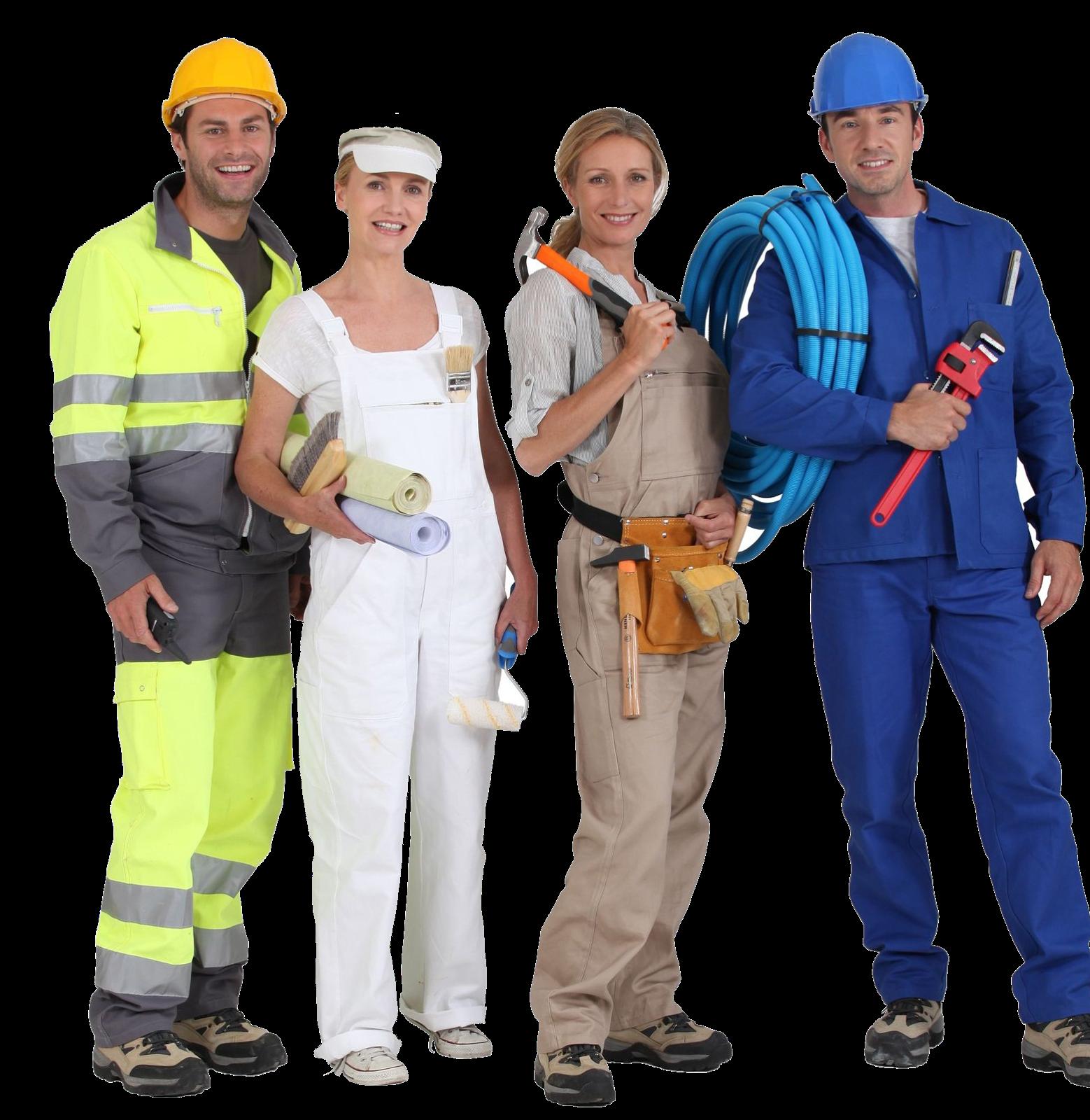 Одежда для рабочих на стройку