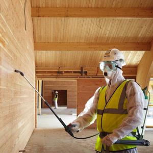 Обработка древесины для защиты от плесени, пожаров и насекомых