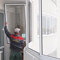 Меры безопасности при выполнении работ по остеклению лоджии и балкона