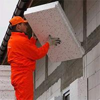 Утепление наружных стен кирпичных и бревенчатых домов