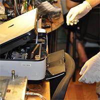 Техника безопасности при ремонте  принтера