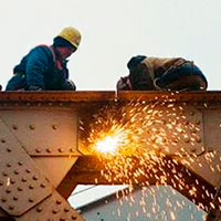 О технике безопасности при демонтаже больших металлоконструкций