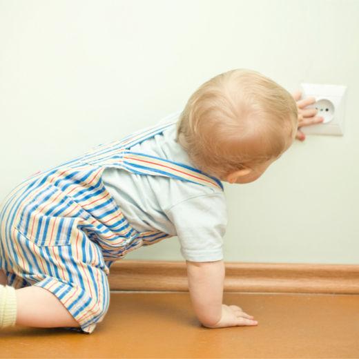 Техника безопасности, когда ребенок в доме