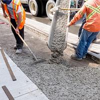 Меры безопасности при работе с бетоном