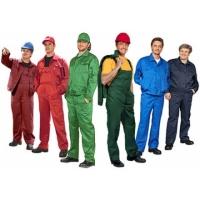 Спецодежда защитный костюм на заводе