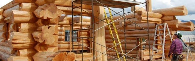 Техника безопасности при строительстве деревянных домов
