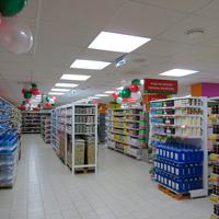 светодиодные светильники для супермаркетов