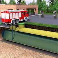 Как использовать подземные пожарные резервуары