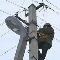 О работе на воздушных линиях электропередач опоры освещения силовые