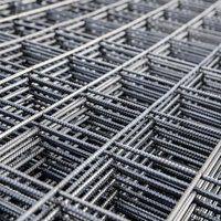 Монтаж арматуры в виде сварной сетки металлической