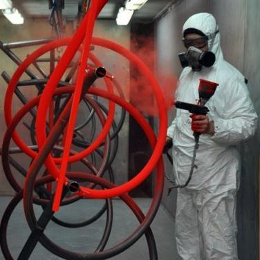 Полимерная покраска оцинкованного металла