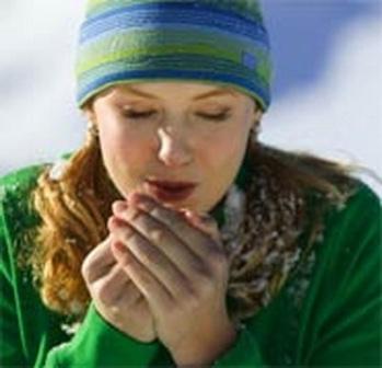 Степени отморожения и первая помощь при обморожении