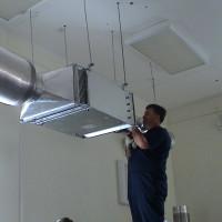 Обслуживание системы вентиляции на предприятии