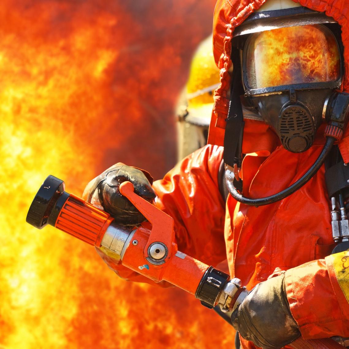 Обои на рабочий стол пожарной безопасности