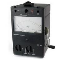 Техника безопасности при использовании мегаомметра ЭС0202
