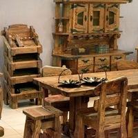 Деревянная мебель из массива под старину