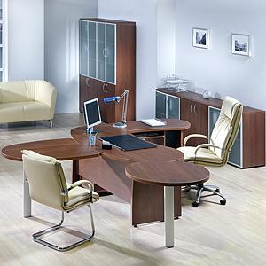 Кабинет Статус — идеальная мебель для руководителя молодой компании
