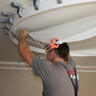 Основы техники безопасности при монтаже натяжных потолков