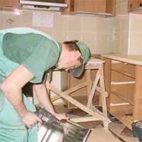 ТБ при монтаже кухонного гарнитура