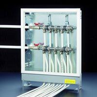 Безопасность функционирования инженерных коммуникаций расчет коллекторной системы отопления распределительный коллектор