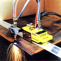 ТБ при использовании переносной газорежущей машины Смена-2М