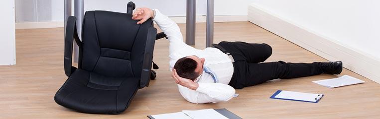 Как избежать травмы в офисе