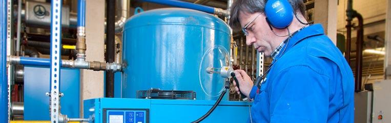 Что обеспечивает безопасность эксплуатации промышленного компрессора