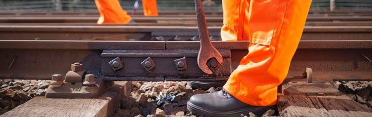 Безопасность работ при ремонте железнодорожного пути