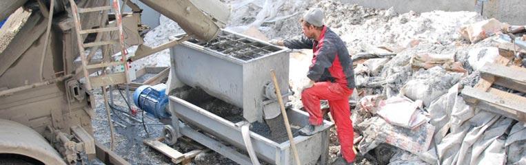 Своевременная доставка бетонного раствора стационарным бензонасосом
