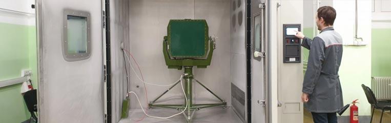 Меры безопасности при работе с климатической камерой