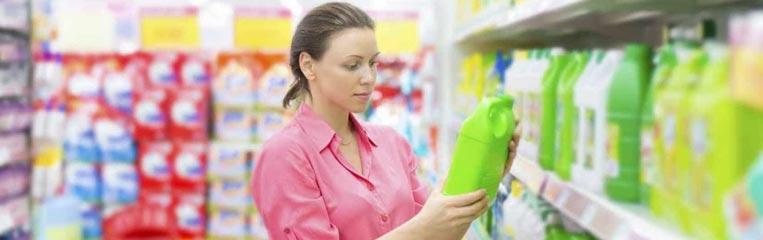 Маркировка товаров бытовой химии