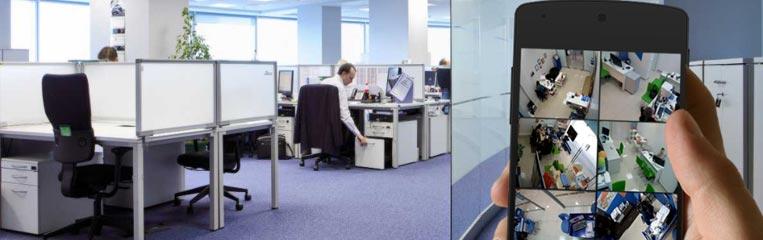 Охрана офисов: системы видеонаблюдения