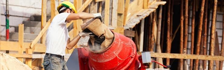 Техника безопасности при работе на бетоносмесителе