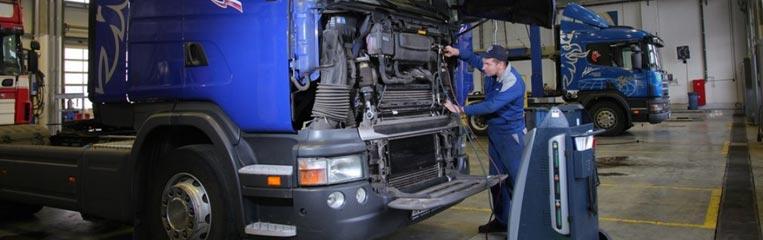 Меры безопасности при техническом обслуживании грузовых автомобилей
