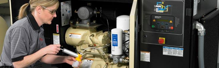 Эксплуатация воздушного компрессора: правила ТБ
