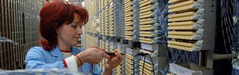 Техника безопасности при монтаже автоматических телефонных станций