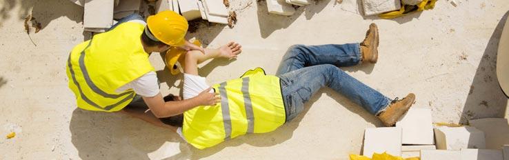 Несчастные случаи, связанные с работой, и НС на производстве в строительстве