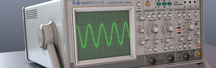 Техника безопасности при работе с осциллографом