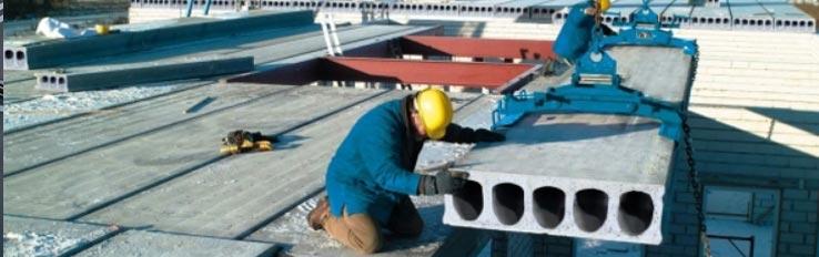 Техника безопасности при монтаже плит перекрытия