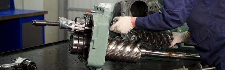 Меры безопасности при ремонте винтовых компрессоров