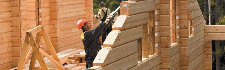 Техника безопасности при строительстве дома из бруса