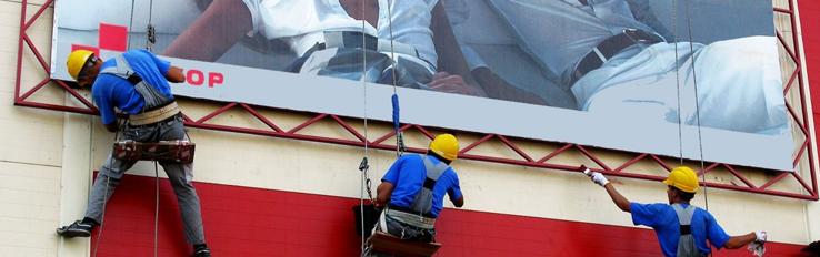 Охрана труда при установке рекламных конструкций