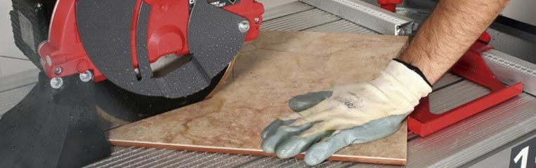 Основные правила техники безопасности при резке керамической плитки
